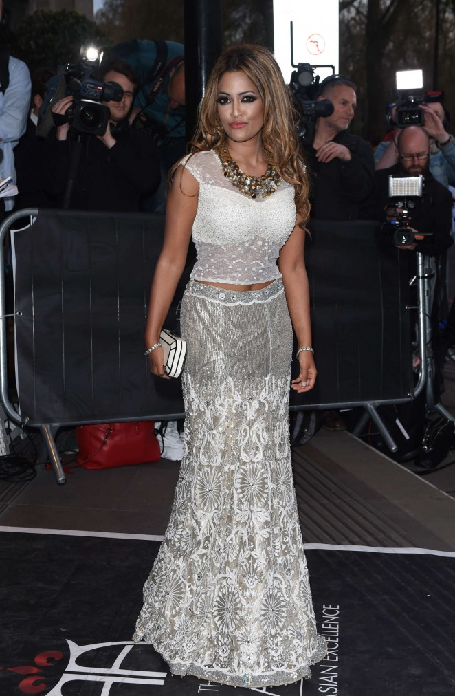 Tasmin Lucie Khan - Asian Awards 2015 in London
