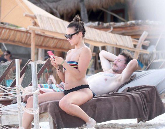 Tasya Teles 2019 : Tasya Teles – In bikini enjoying a day in Tulum Beach-02
