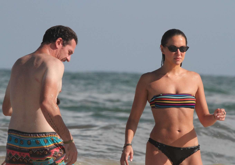 Tasya Teles 2019 : Tasya Teles – In bikini enjoying a day in Tulum Beach-07