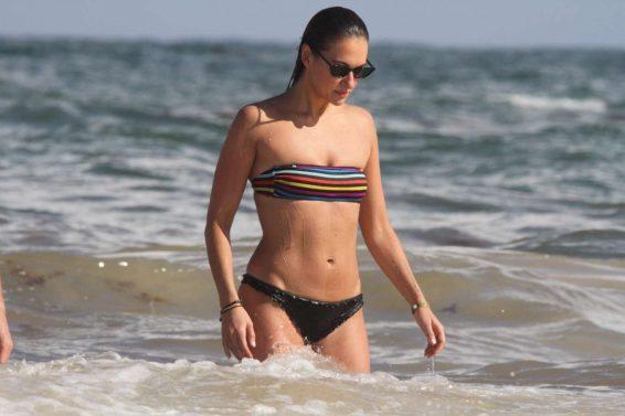 Tasya Teles 2019 : Tasya Teles – In bikini enjoying a day in Tulum Beach-10