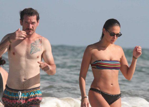 Tasya Teles 2019 : Tasya Teles – In bikini enjoying a day in Tulum Beach-13