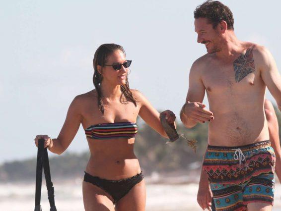 Tasya Teles 2019 : Tasya Teles – In bikini enjoying a day in Tulum Beach-15