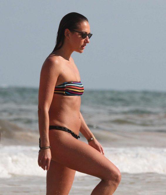Tasya Teles 2019 : Tasya Teles – In bikini enjoying a day in Tulum Beach-19