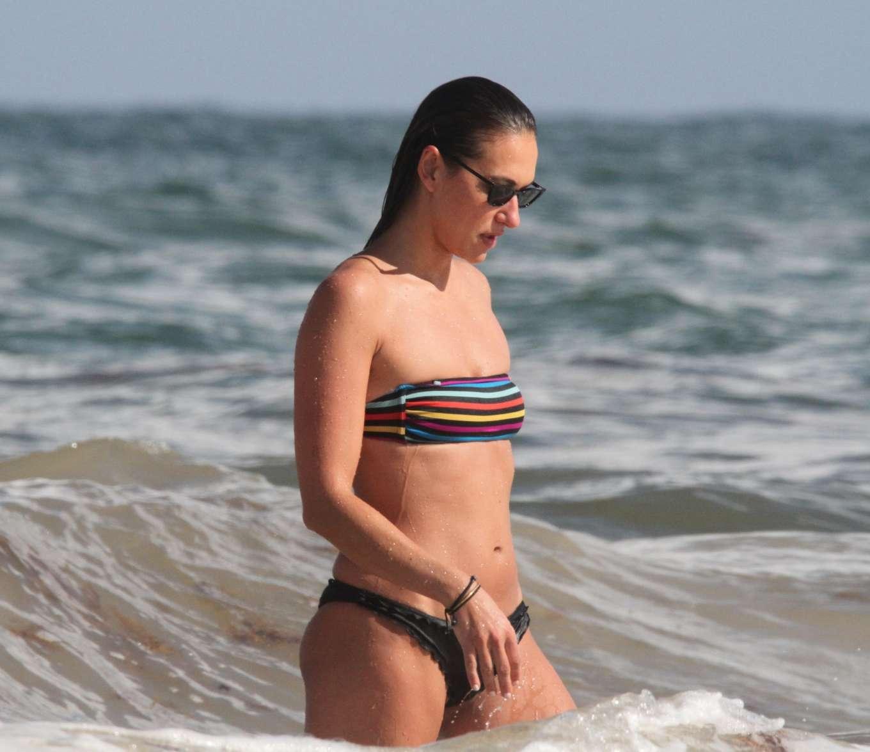 Tasya Teles 2019 : Tasya Teles – In bikini enjoying a day in Tulum Beach-20