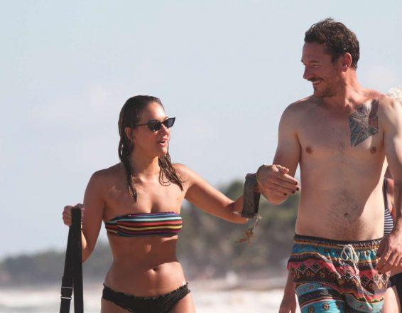 Tasya Teles 2019 : Tasya Teles – In bikini enjoying a day in Tulum Beach-21