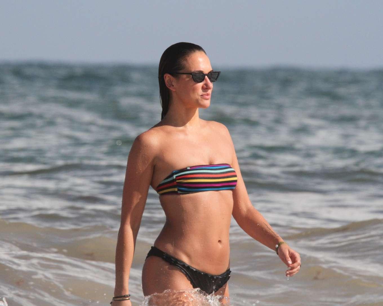 Tasya Teles 2019 : Tasya Teles – In bikini enjoying a day in Tulum Beach-25