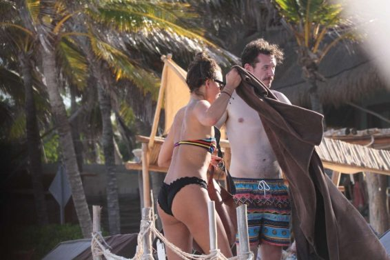 Tasya Teles 2019 : Tasya Teles – In bikini enjoying a day in Tulum Beach-26