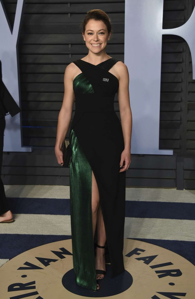 Tatiana Maslany - 2018 Vanity Fair Oscar Party in Hollywood