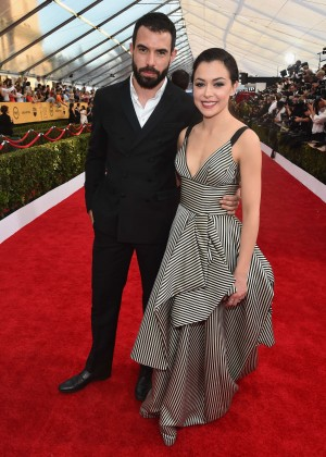 Tatiana Maslany - 2015 Screen Actors Guild Awards in LA