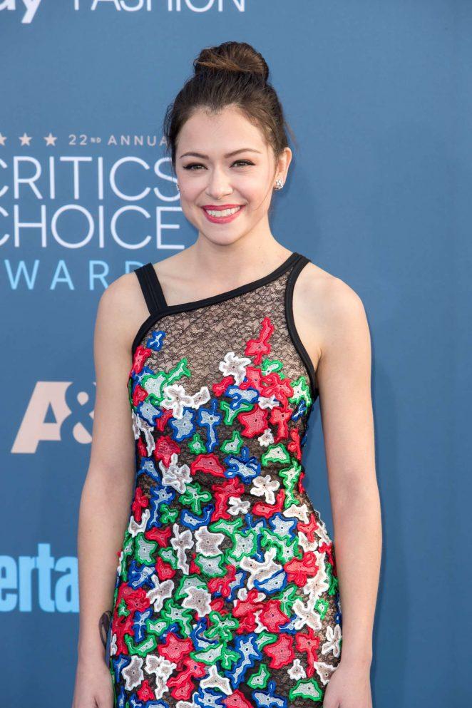 Tatiana Maslany - 22nd Annual Critics' Choice Awards in Los Angeles