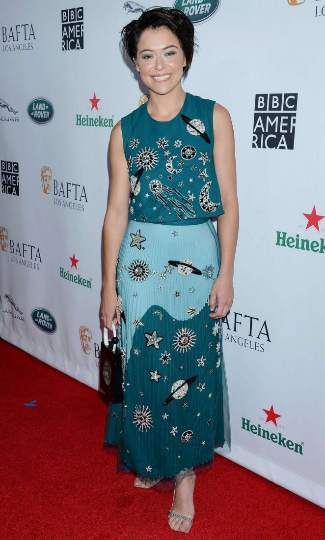 Tatiana Maslany - BAFTA Los Angeles + BBC America TV Tea Party in LA