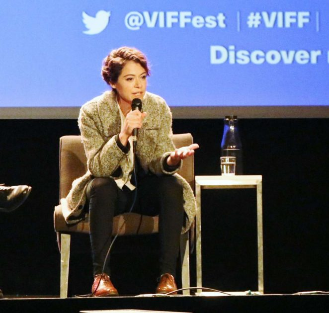 Uncategorized 2016 : Tatiana Maslany: Speaks at the VIFF in Vancouver-01