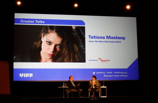 Uncategorized 2016 : Tatiana Maslany: Speaks at the VIFF in Vancouver-07