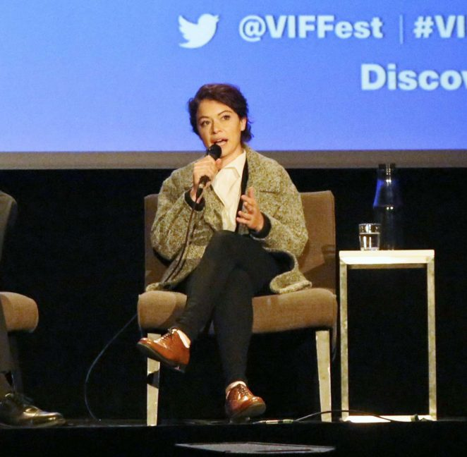 Uncategorized 2016 : Tatiana Maslany: Speaks at the VIFF in Vancouver-11