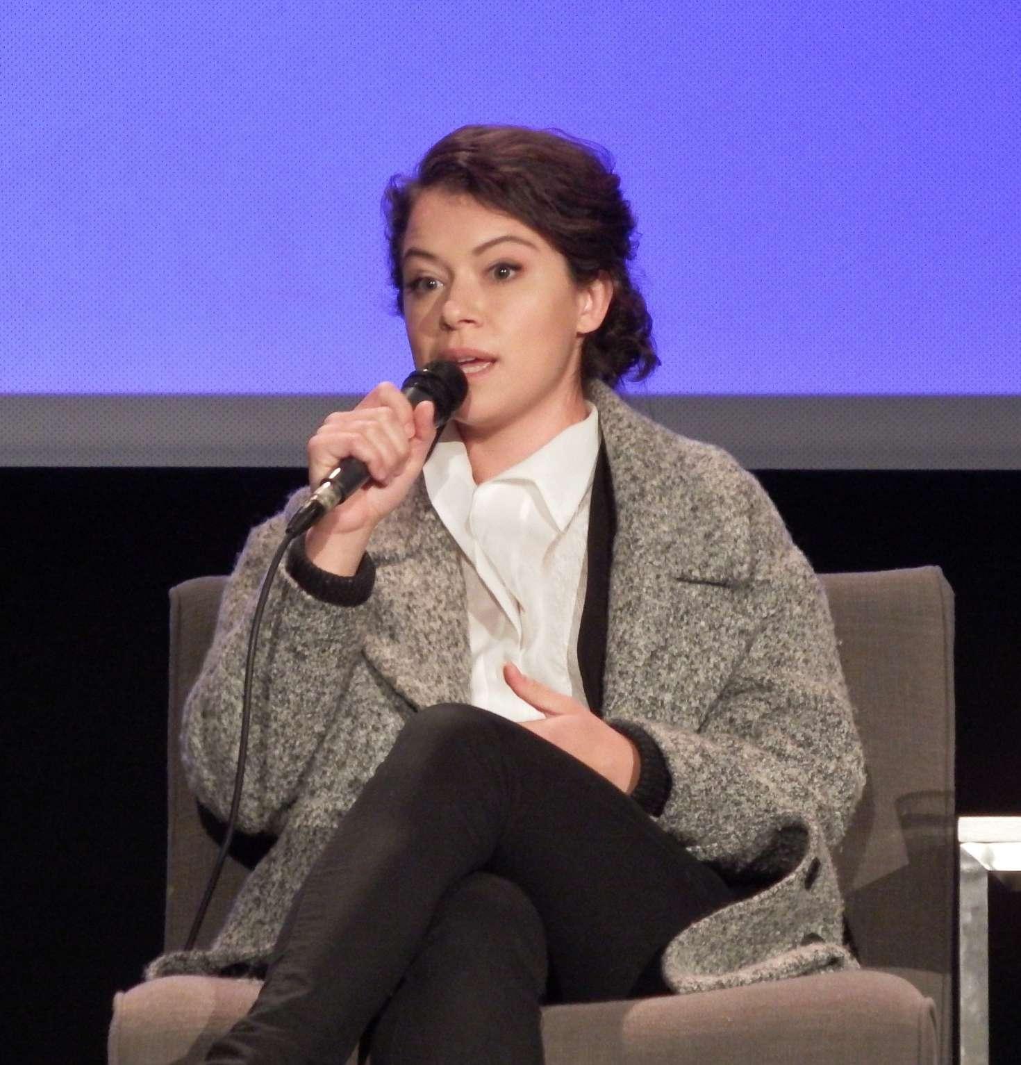 Uncategorized 2016 : Tatiana Maslany: Speaks at the VIFF in Vancouver-14