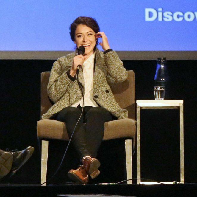 Uncategorized 2016 : Tatiana Maslany: Speaks at the VIFF in Vancouver-18