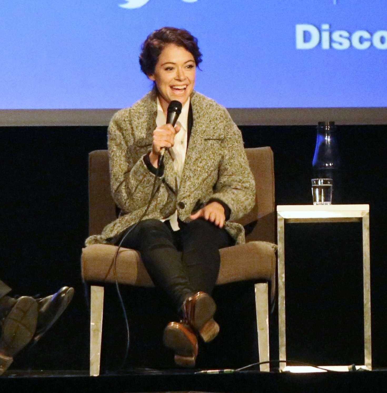 Uncategorized 2016 : Tatiana Maslany: Speaks at the VIFF in Vancouver-22