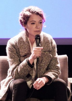 Tatiana Maslany - Speaks at the VIFF in Vancouver