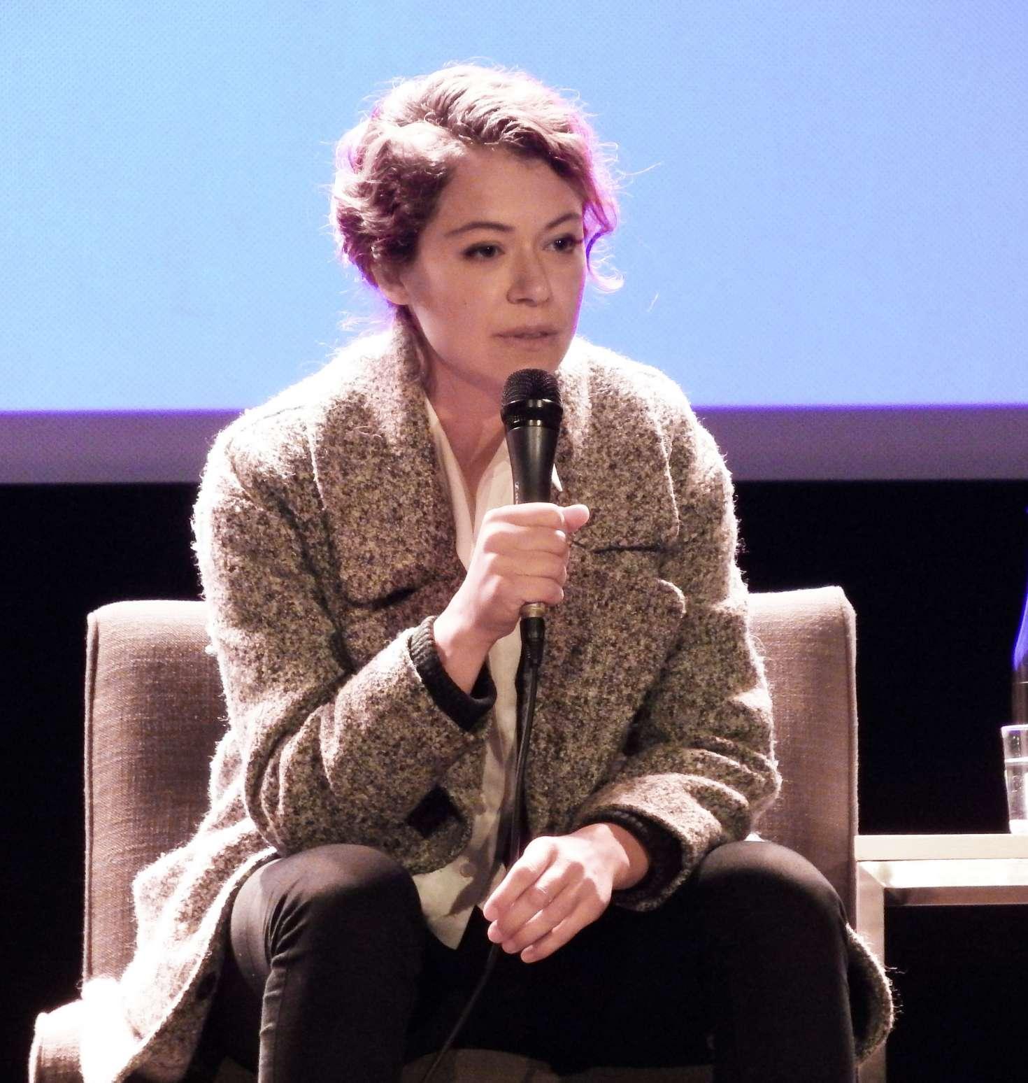 Tatiana Maslany - Speaks at the VIFF in Vancouver