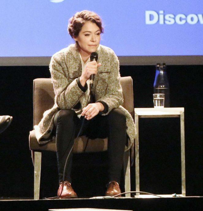 Uncategorized 2016 : Tatiana Maslany: Speaks at the VIFF in Vancouver-24