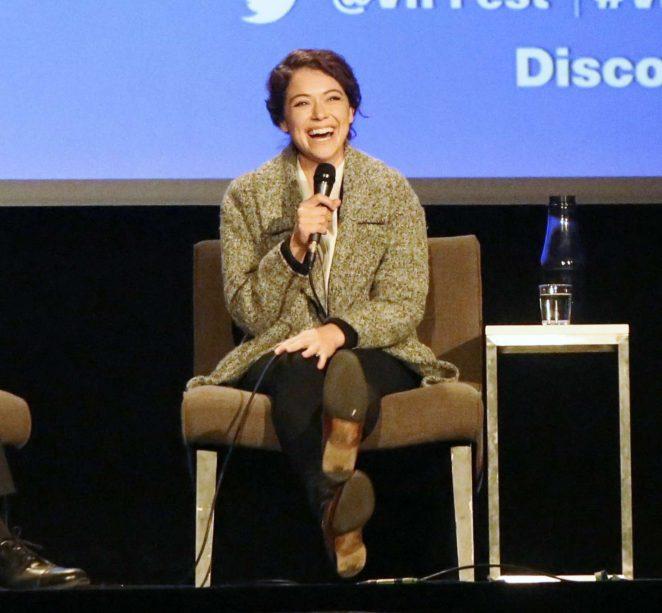 Uncategorized 2016 : Tatiana Maslany: Speaks at the VIFF in Vancouver-27