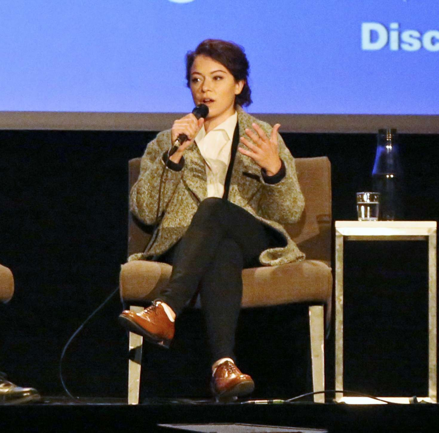 Uncategorized 2016 : Tatiana Maslany: Speaks at the VIFF in Vancouver-28