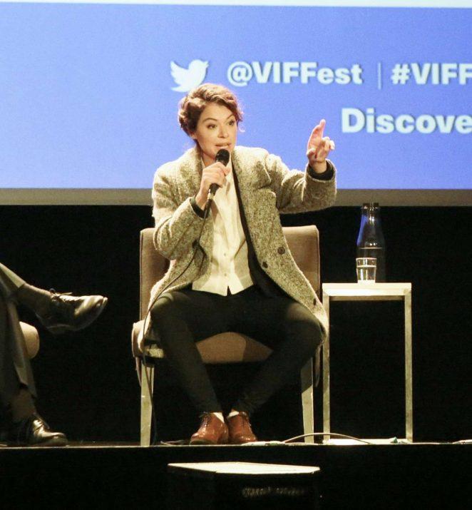 Uncategorized 2016 : Tatiana Maslany: Speaks at the VIFF in Vancouver-31