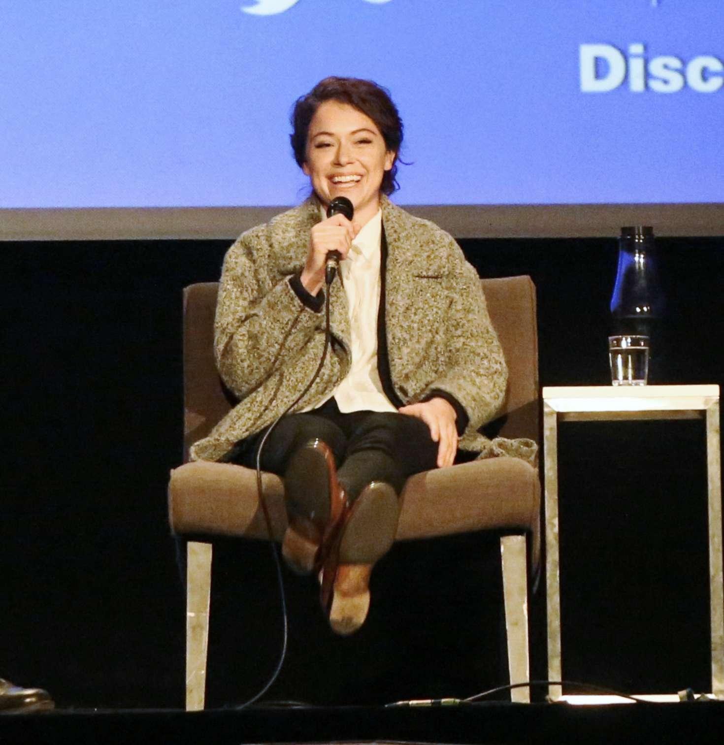 Uncategorized 2016 : Tatiana Maslany: Speaks at the VIFF in Vancouver-35