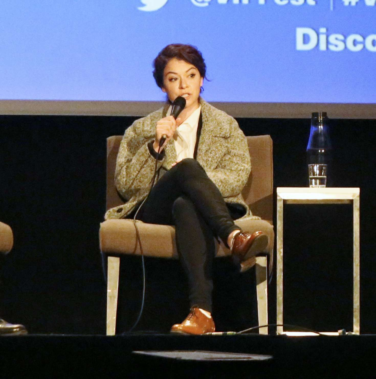 Uncategorized 2016 : Tatiana Maslany: Speaks at the VIFF in Vancouver-36