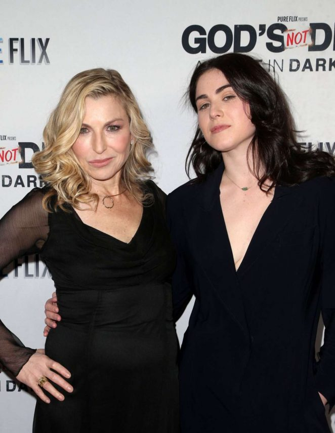 Tatum O'neal and Emily Mcenroe – 'God's Not Dead: A Light in Darkness' Premiere in LA