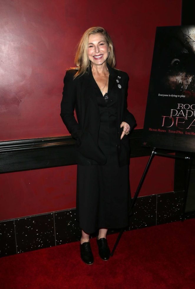 Tatum ONeal: Rock Paper Dead Screening -05