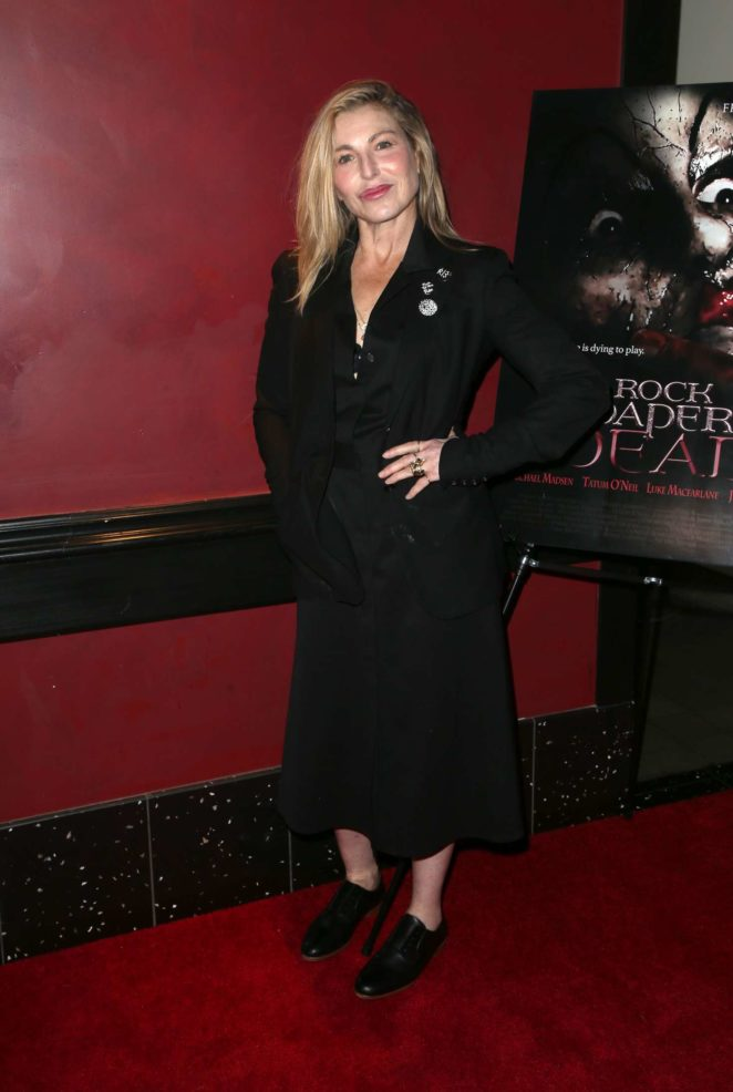 Tatum ONeal: Rock Paper Dead Screening -08