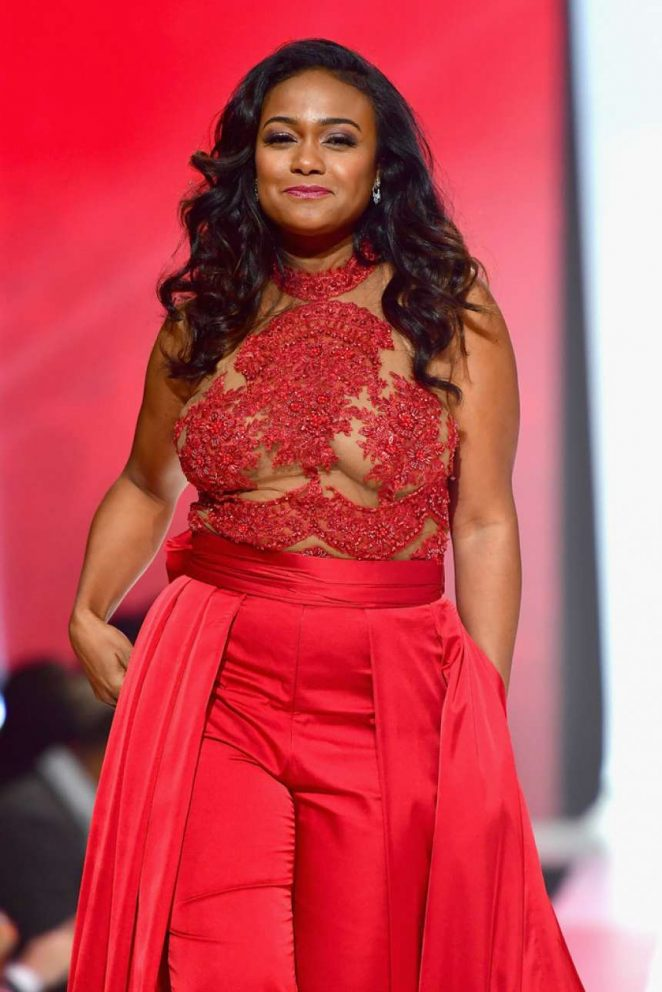 Tatyana Ali – American Heart Association's Go Red for Women Red Dress Collection 2018 in NY