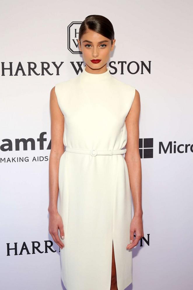 Taylor Hill - 2015 amfAR Inspiration Gala in NYC