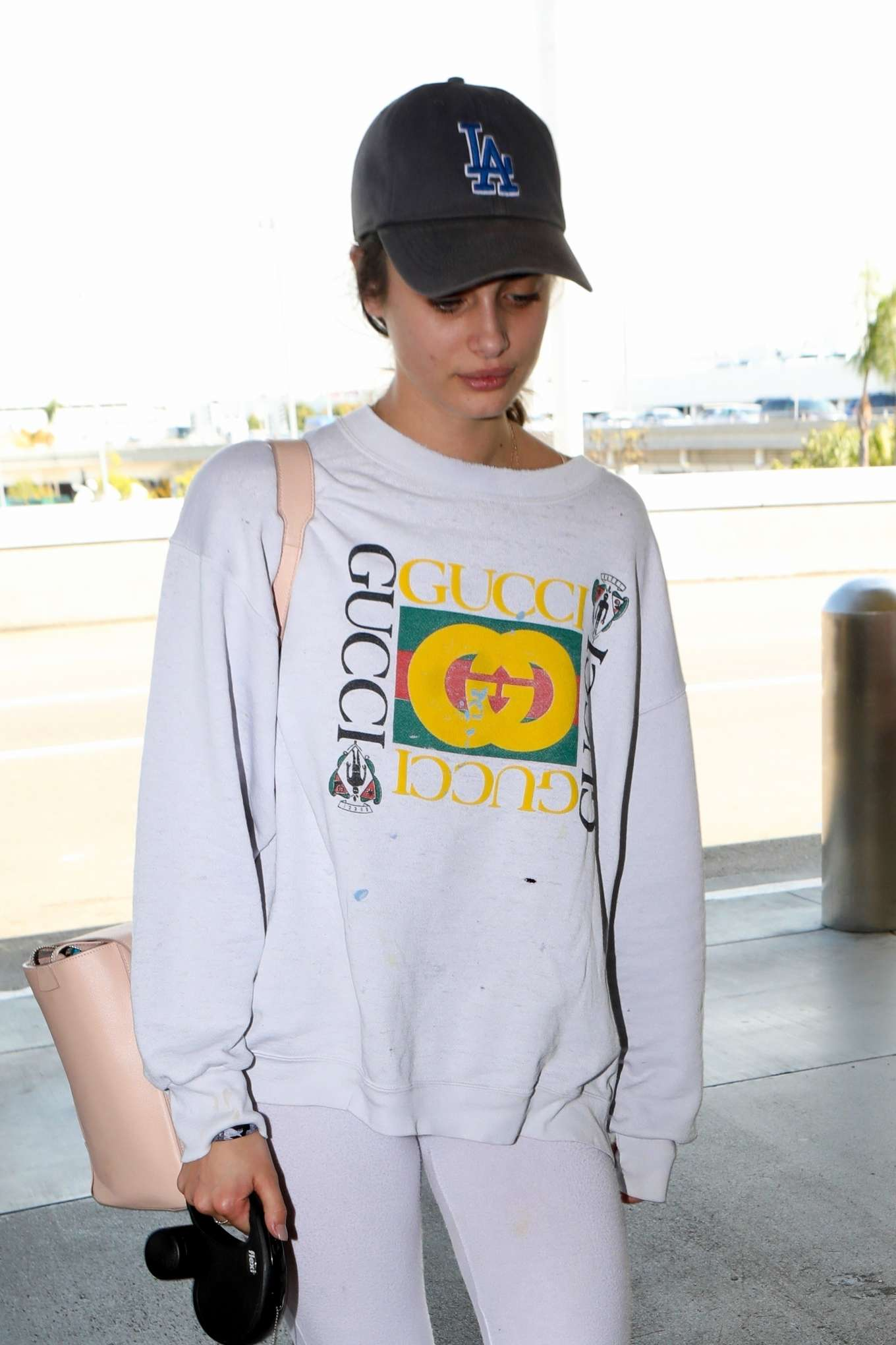 Taylor Hill 2017 : Taylor Hill: Arrives at LAX Airport -02