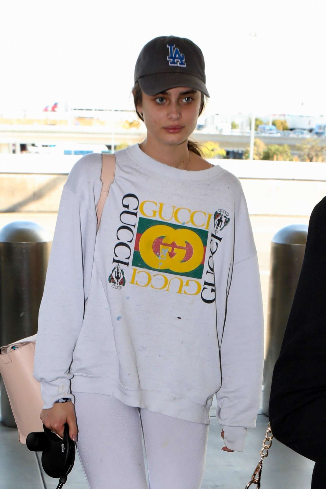Taylor Hill - Arrives at LAX Airport in Los Angeles