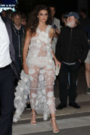 Taylor Hill - Arrives at the Elton John Rocket Man Party in Cannes