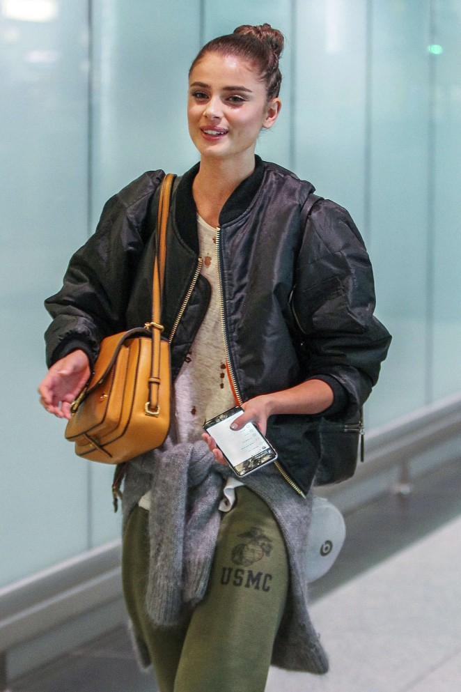 Taylor Hill - Arriving at Airport in Canada