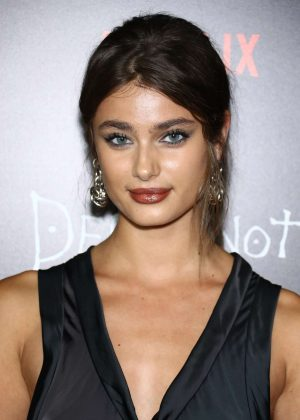 Taylor Hill - 'Death Note' Premiere in New York City