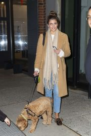 Taylor Hill - Departing a Victoria's Secret photoshoot at Milk Studios in New York