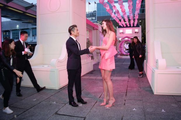 Taylor Hill: Lancome Promotional Event -02