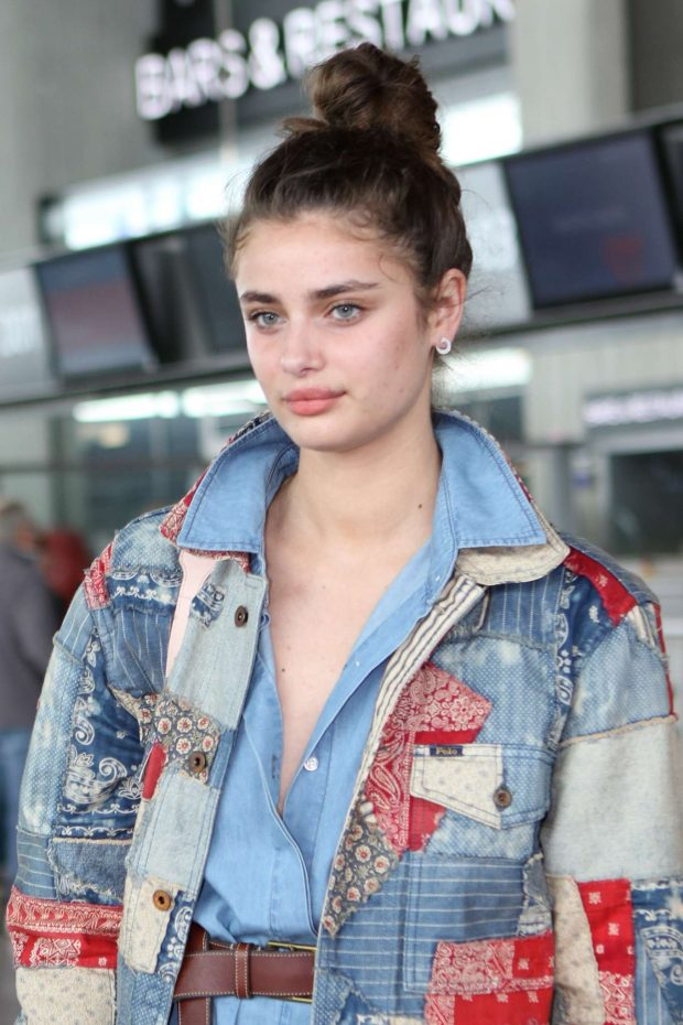 Taylor Hill - Leaves from Nice Airport in France