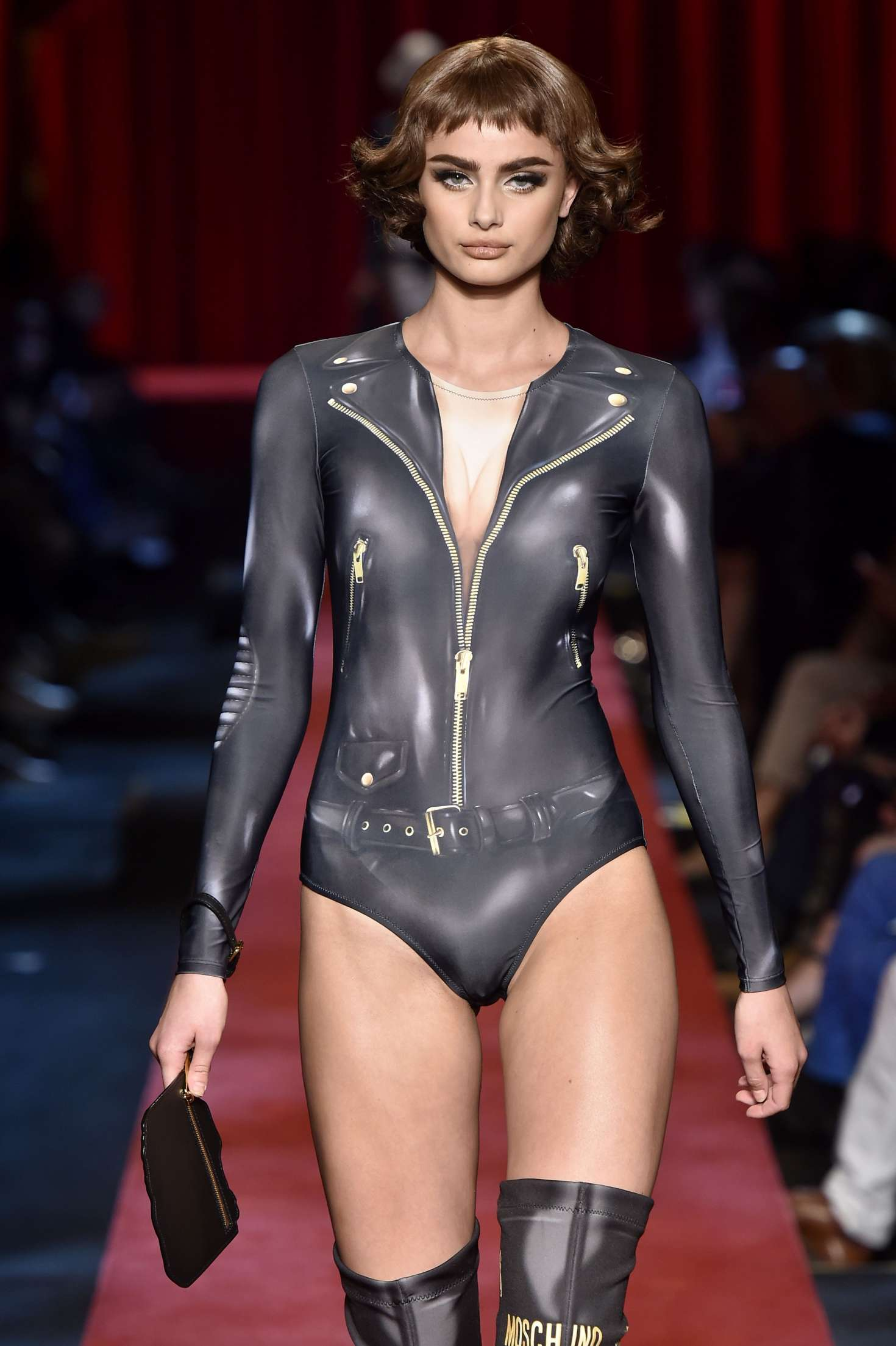Taylor Hill - Moschino Show 2017 at Milan Fashion Week in Italy