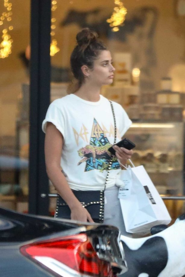 Taylor Hill - out in West Hollywood