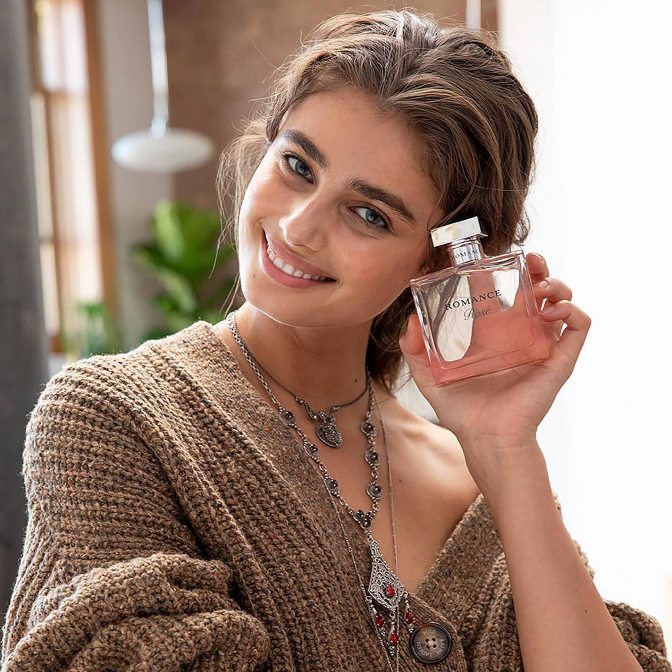 Taylor Hill - Photoshoot for Ralph Lauren Romance fragrance campaign (2020)