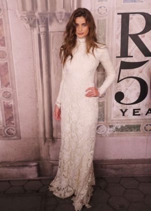 Taylor Hill - Ralph Lauren 50th Anniversary Party in New York