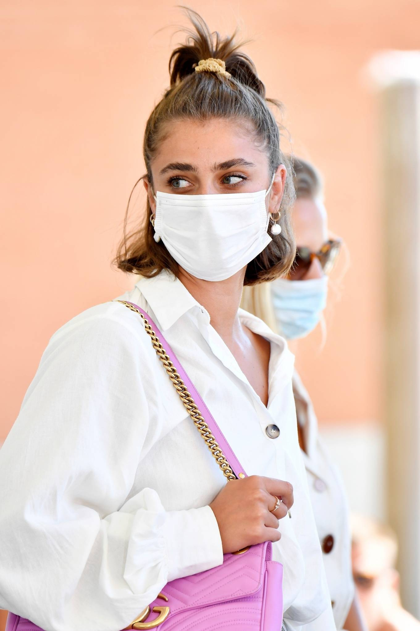 Taylor Hill 2020 : Taylor Hill – Spotted arriving at the airport during the 75th Venice Film Festival in Venice-01