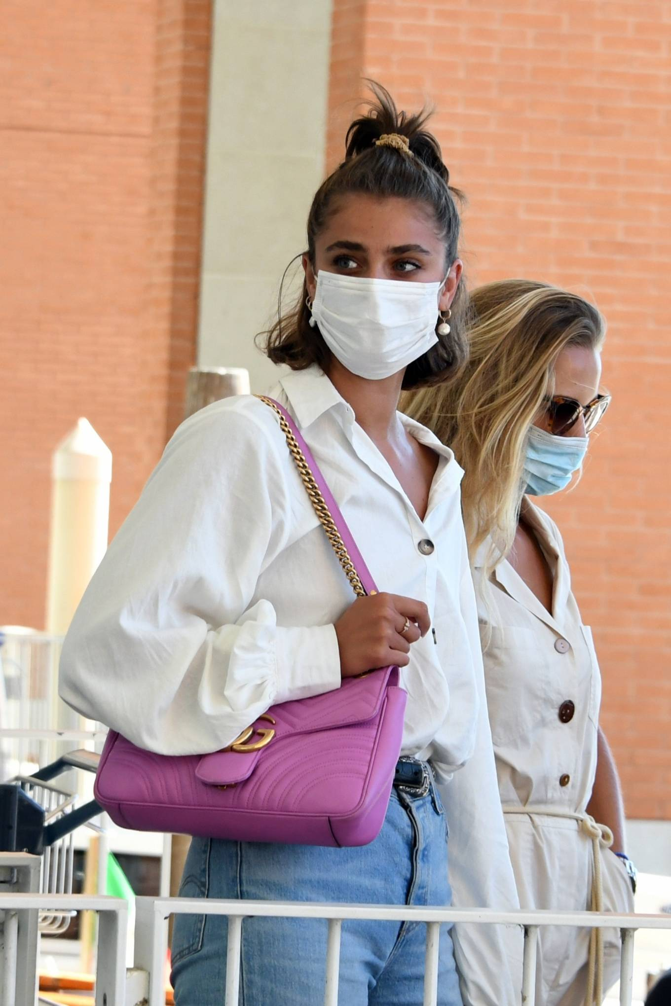 Taylor Hill 2020 : Taylor Hill – Spotted arriving at the airport during the 75th Venice Film Festival in Venice-06