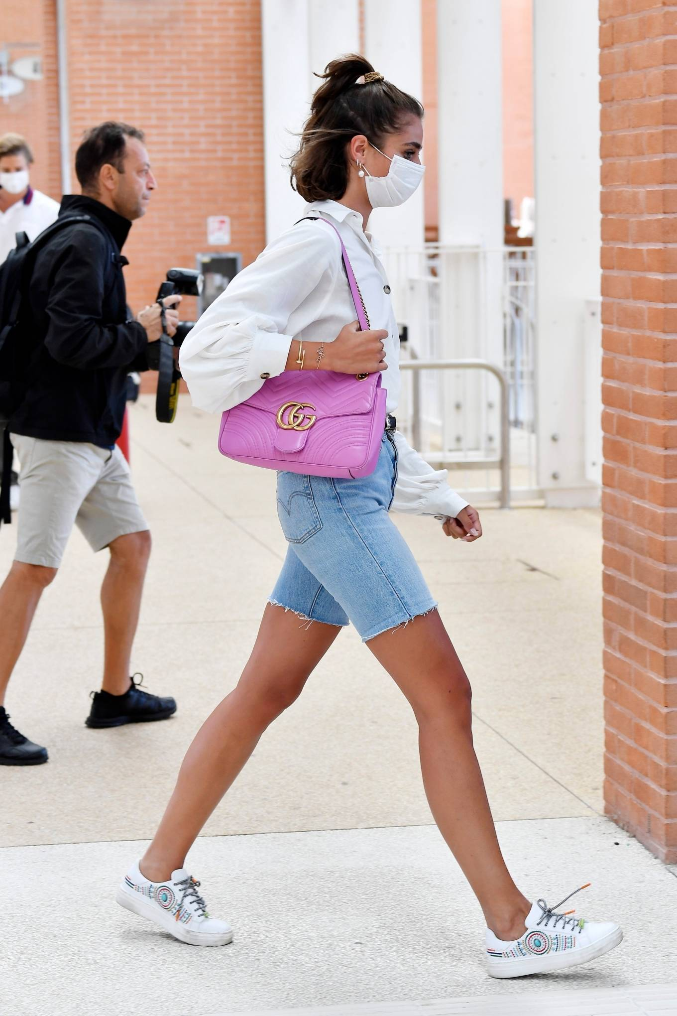 Taylor Hill 2020 : Taylor Hill – Spotted arriving at the airport during the 75th Venice Film Festival in Venice-10