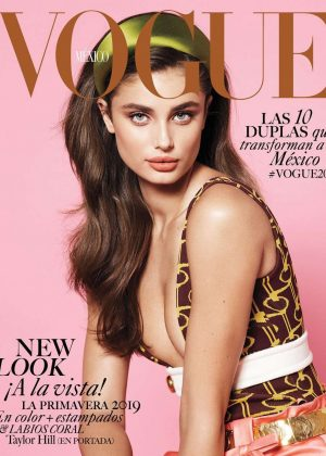 Taylor Hill - Vogue Mexico Magazine (March 2019)